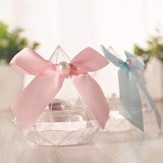 Creative/Classic/Candy Design Bottle shaped Plastic Candy Jars and Bottles With Ribbons