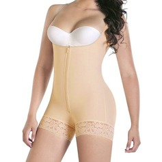 Cotton Blends Adjustable Straps Shapewear (125094610)
