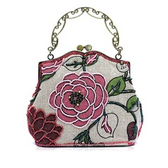 Charming Fabric With Beading/Floral Print Fashion Handbags