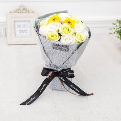 Soap Flower Bridal Bouquets (Sold in a single piece) -