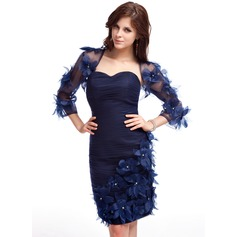 3/4-Length Sleeve Tulle Special Occasion Wrap