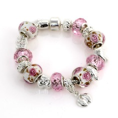 Beautiful Silver Plated Ceramic Ladies' Bracelets & Anklets