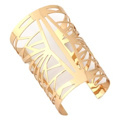 Stylish Alloy Gold Plated Ladies' Fashion Bracelets