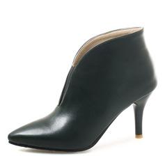 Donna Similpelle Tacco a spillo Stivali Stivali alla caviglia scarpe