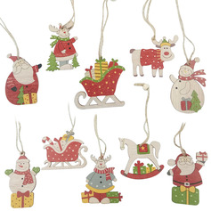 Christmas Wooden Home Décor (Set of 2)