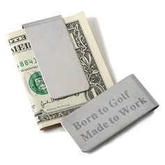 Personalized Simple Design Stainless Steel Money Clips (118028992)