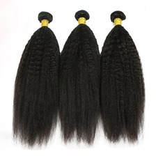 4A Non remy Kinky Straight Human Hair Human Hair Weave (Sold in a single piece) 100g
