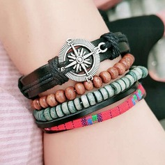 Exquis Alliage Similicuir Dames Bracelets de mode