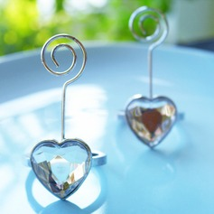 Heart Shaped Place Card Holder (Sold in a single piece)