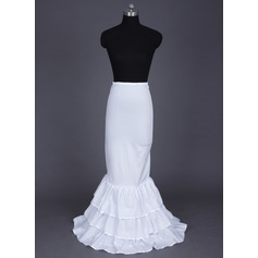 Women Nylon/Lycra Floor-length 3 Tiers