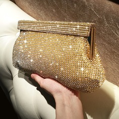 Shining Crystal/ Rhinestone Clutches/Satchel (012118291)