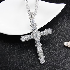 Shining Alloy Rhinestones With Rhinestone Ladies' Fashion Necklace