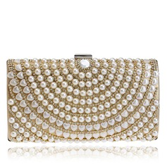 Charming Polyester/Imitation Pearl Clutches