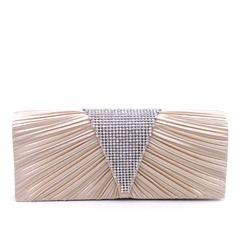 Charming Satin Clutches/Satchel (012114005)