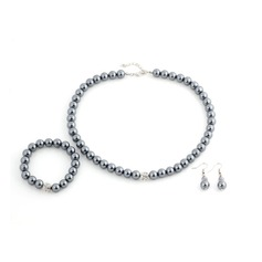 Nice Alloy Imitation Pearls Women's Jewelry Sets