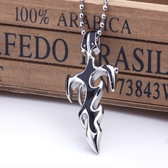 Cross Titanium steel Unisex Jóias DIY
