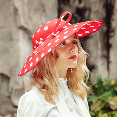 Ladies' Eye-catching/Hottest Polyester With Pearl Beach/Sun Hats