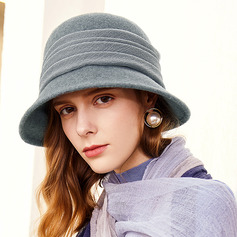 Ladies' Glamourous/Elegant/Pretty Wool/Polyester Bowler/Cloche Hats