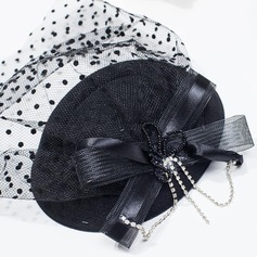 Ladies' Vintage Net Yarn Fascinators/Tea Party Hats (196075524)