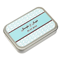 Personalized Cuboid Tins Favor Tin (Set of 12)
