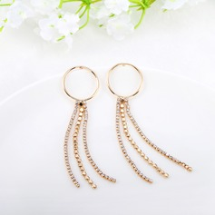Unique Alloy With Imitation Crystal Women's Fashion Earrings