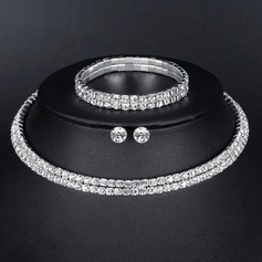 Legering/Strass Damer' Smycken Sets (011151345)