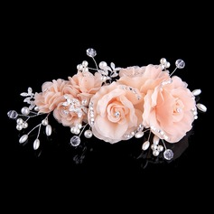 Beautiful Crystal/Imitation Pearls/Silk Flower Headbands (Sold in single piece) (042144256)