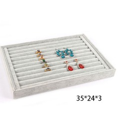 Ring ear nail jewelry tray(Transparent lid) (051152103)