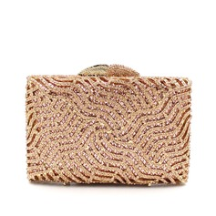 Shining Alloy Clutches/Satchel