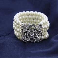 Gorgeous Alloy/Imitation Pearls Ladies' Bracelets