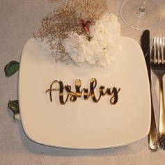 Place Cards Acrylic Personalized Simple Elegant Table Centerpieces
