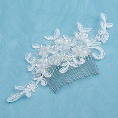 Beautiful Alloy/Imitation Pearls/Lace Combs & Barrettes With Pearl