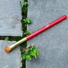 Pony Hair Eyeshadow Brush With Baking Varnish Wooden Handle