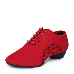 Women's Canvas Sneakers Practice Dance Shoes