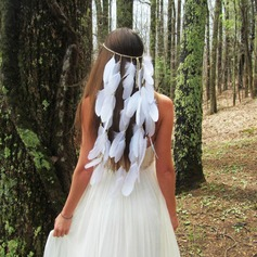 Ladies Beautiful Feather Headbands (Sold in single piece)