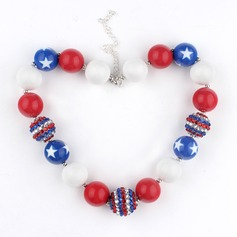 Nice Acrylic Girls' Fashion Necklace