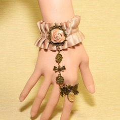 Charming Alloy/Lace Ladies' Bracelets