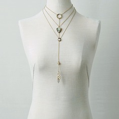 Gorgeous Alloy Women's Fashion Necklace (Sold in a single piece)