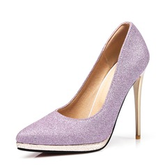 Women's Sparkling Glitter Stiletto Heel Pumps With Sparkling Glitter shoes