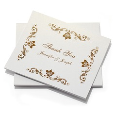 Personalized Artistic Style Thank You Cards (Set of 10)