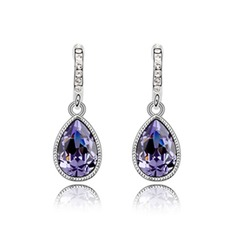 Elegant Alloy/Crystal Women's Earrings