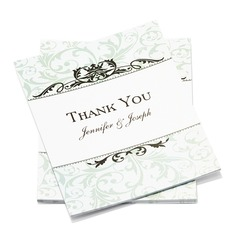 Personalized Formal Style Thank You Cards (Set of 50)