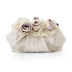 Gorgeous Silk/Tulle Clutches/Satchel