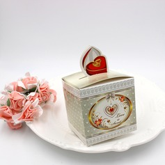 Sweet Love Cuboid Card Paper Favor Boxes