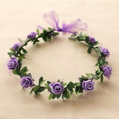 Lovely Single Flower Round Cloth Headdress Flower -