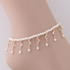 Fashionable Alloy Imitation Pearls With Imitation Pearl Women's (Sold in a single piece)