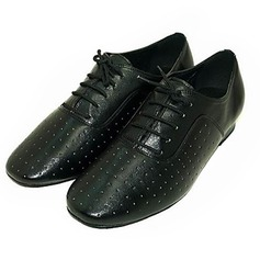 Men's Real Leather Latin Modern Ballroom Dance Shoes