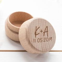 Enkel/Elegant Ring Boks i Wood