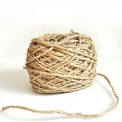 "78 3/4"" (200 cm) Simple Linen Rope"