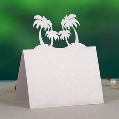 Beach Theme Pearl Paper Place Cards (set of 12)